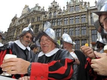 Belgas participan en la inauguración de la Semana de la Cerveza de Bélgica