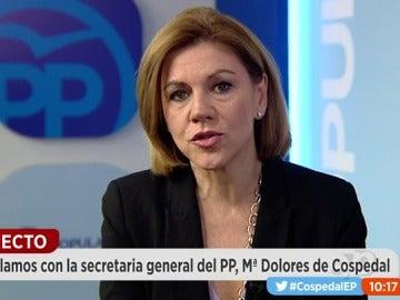 María Dolores de Cospedal en Espejo Público