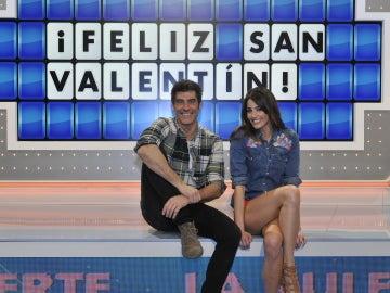 El test más romántico jamás hecho a Jorge Fernández y Laura Moure