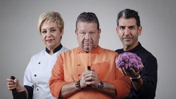 Alberto Chicote, Susi Díaz y Paco Roncero