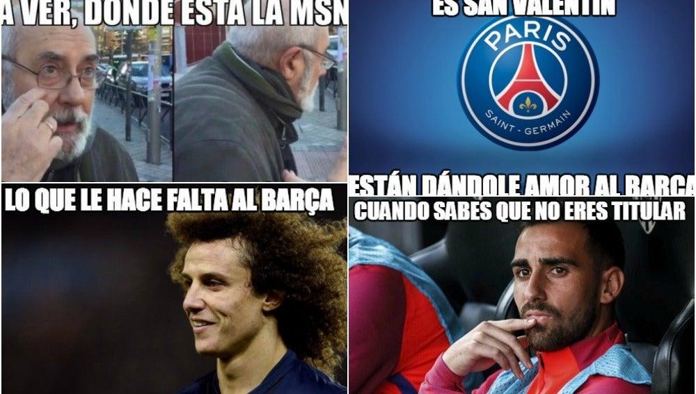 Los mejores memes del PSG-Barça