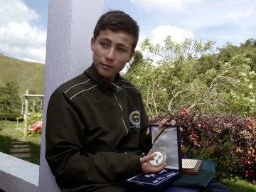 El 'niño ángel' que ayudó en la tragedia del Chapecoense