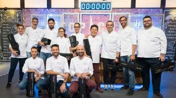 Los 12 cocineros que afilarán sus cuchillos por convertirse en el mejor 'Top Chef'