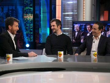 Las profesiones de Raúl Arévalo y Luis Callejo antes de convertirse en actores de éxito