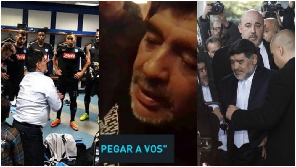 Maradona y su polémico periplo por Madrid