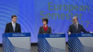 Rueda de prensa de la Comisión Europea