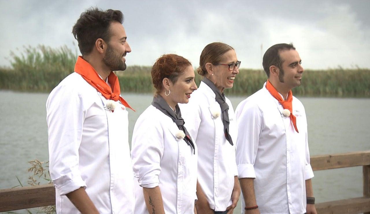 Estampidas, lágrimas y codazos en el tercer programa de 'Top Chef'