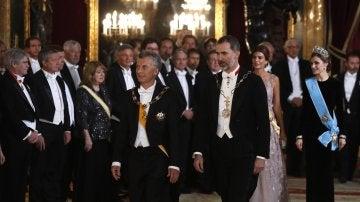 Cena de gala en honor a Mauricio Macri