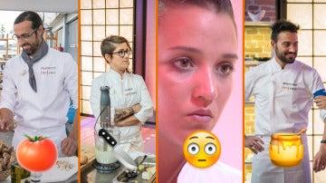 Platos vacíos, cocinas sucias y figuras de cine, los momentazos del segundo programa de 'Top Chef'