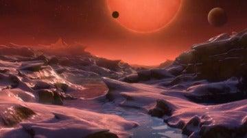 Tres de los exoplanetas pueden tener océanos