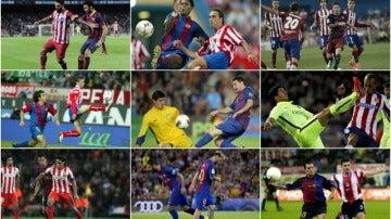 ¿A qué año pertenecen estas fotos del Atleti-Barça?