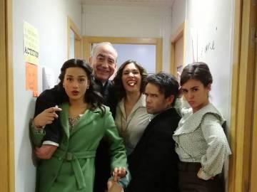 La calurosa bienvenida de los actores de Puente Viejo a Chanel Terrero
