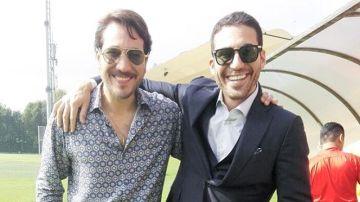 Miguel Ángel Silvestre y Alberto Ammann