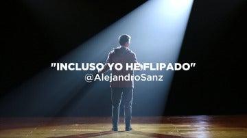 Alejandro Sanz, atónito ante su próxima aparición en 'Tu cara no me suena todavía'