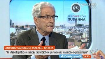Antonio Garrigues Walker, en Espejo Público