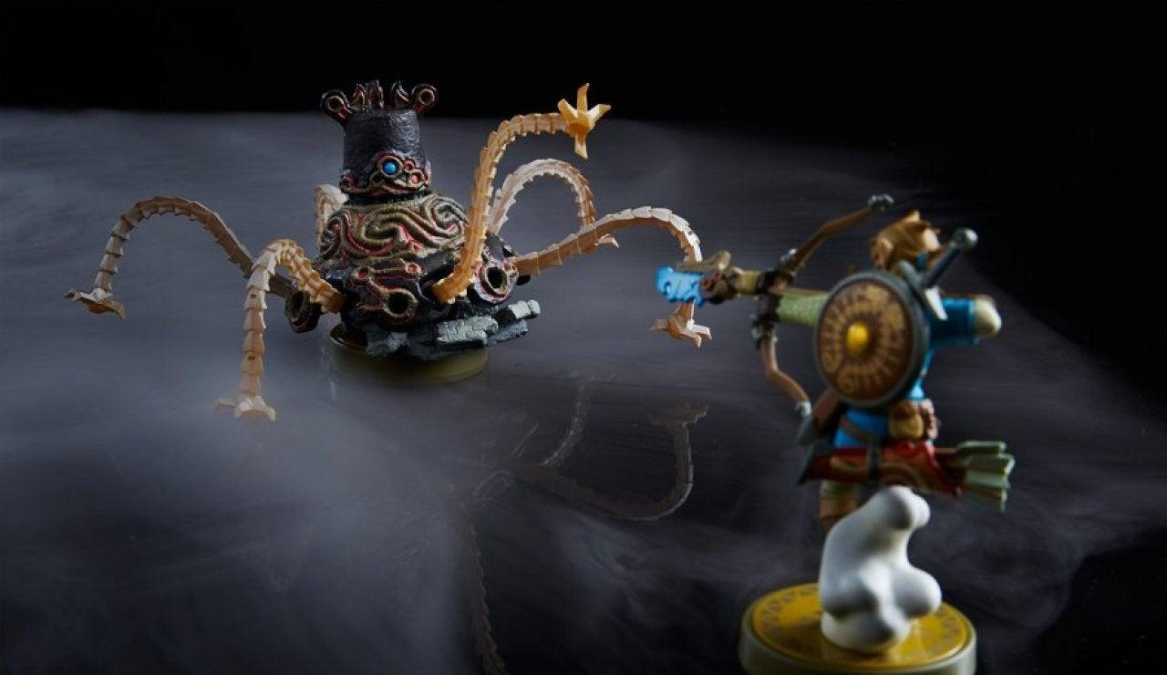 Amiibo de Link Arquero y Guardián