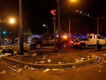 Accidente en Nueva Orleans