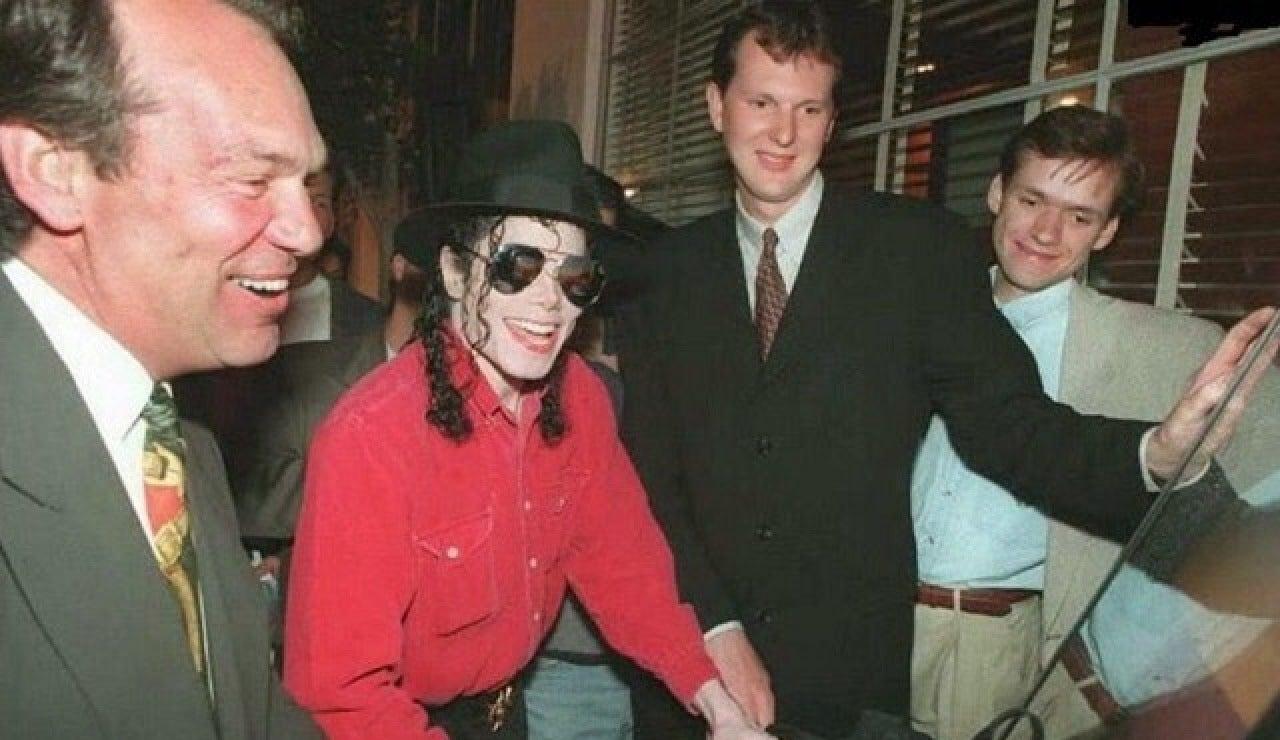 Michael Jackson jugando a Tekken