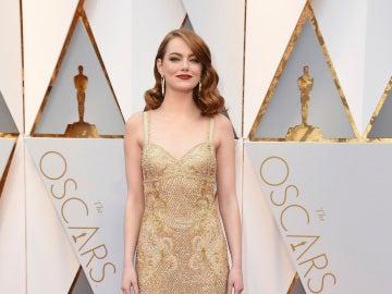 Emma Stone, con un precioso diseño de Givenchy Couture