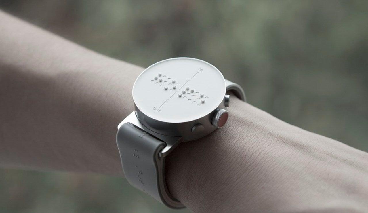 'Dot', el nuevo smartwatch para personas ciegas