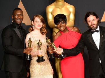 Los ganadores de los Oscar 2017