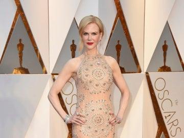 Nicole Kidman, con un 'segunda piel' de Armani