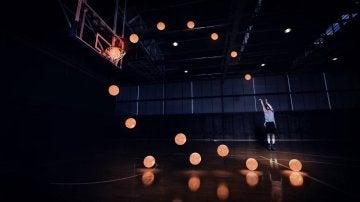 Sergio Llull en una espectacular sesión de fotos