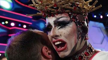 Drag Sethlas, 'reinona' del carnaval de Las Palmas este año