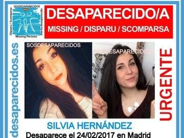 Silvia H., desaparecida en Madrid