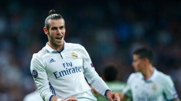 Gareth Bale, en un partido con el Real Madrid