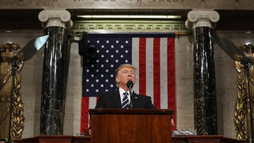 Donald Trump en el Congreso de EEUU