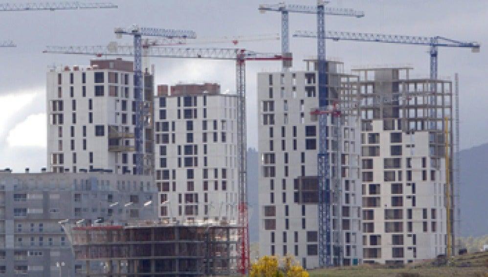 Edificios en construcción
