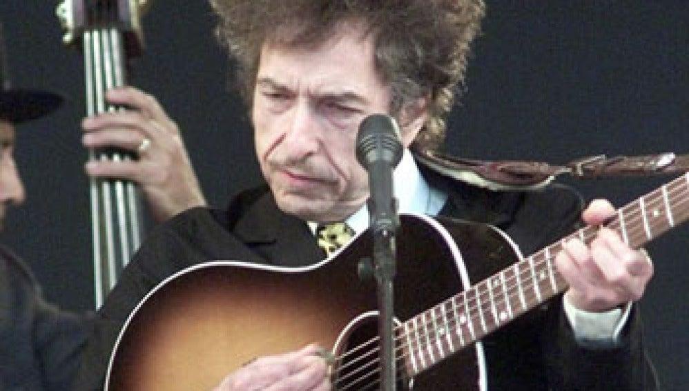 El cantautor Bob Dylan