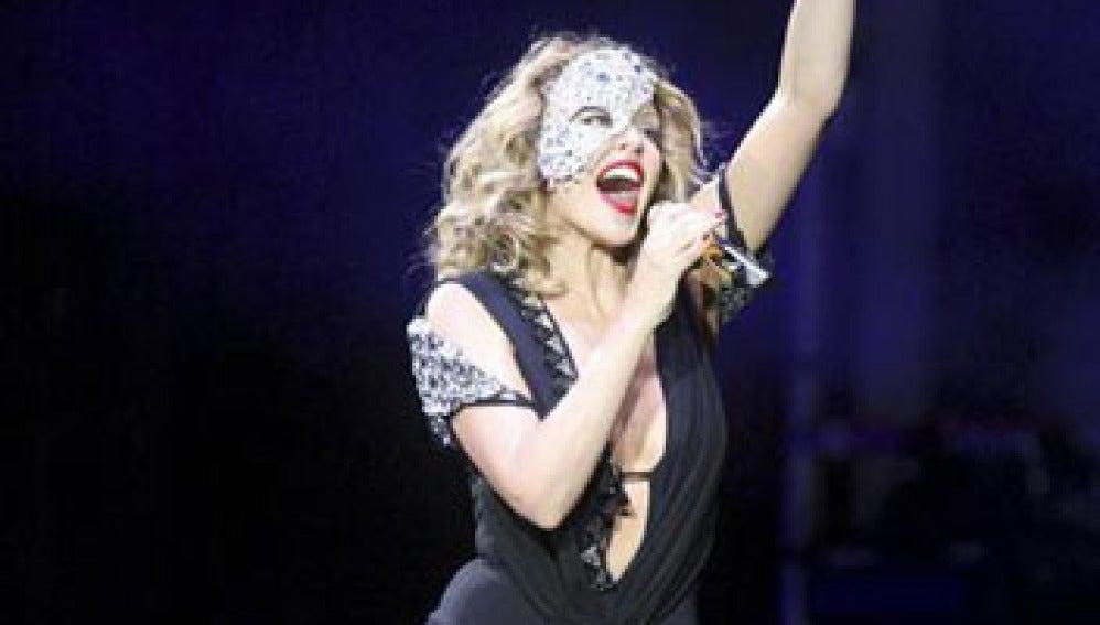 Concierto de Kylie Minogue en Madrid