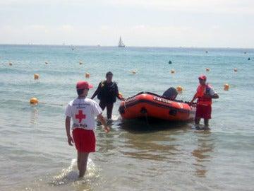 Los socorristas, una ayuda en la playa