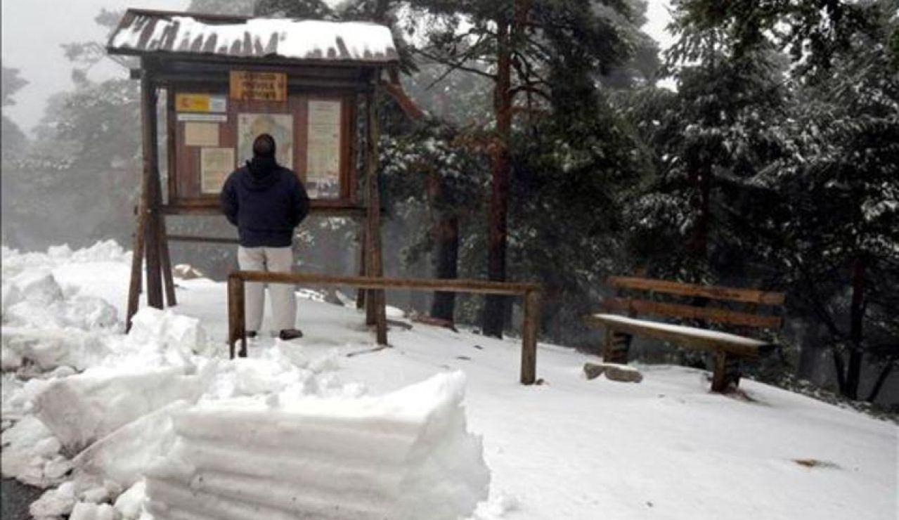 Nieve Navacerrada (EFE)