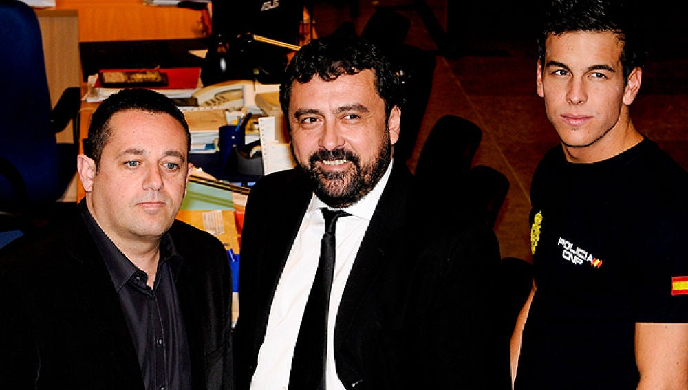 Paco, Mariano y Aitor en 'Los hombres de Paco'