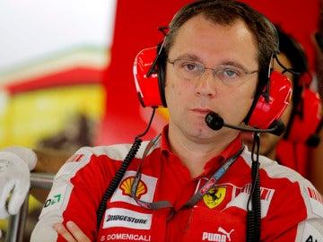 Stefano Domenicali, director deportivo de Ferrari
