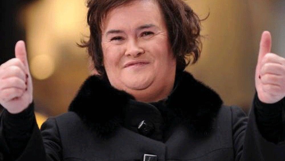 Susan Boyle tras asumir su éxito