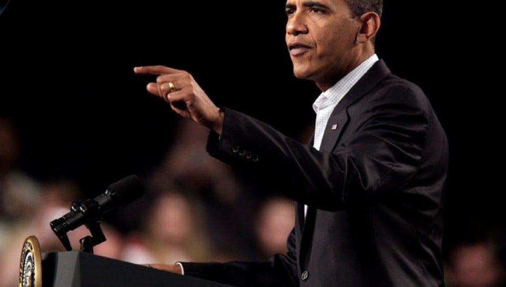Obama aparta la reforma sanitaria
