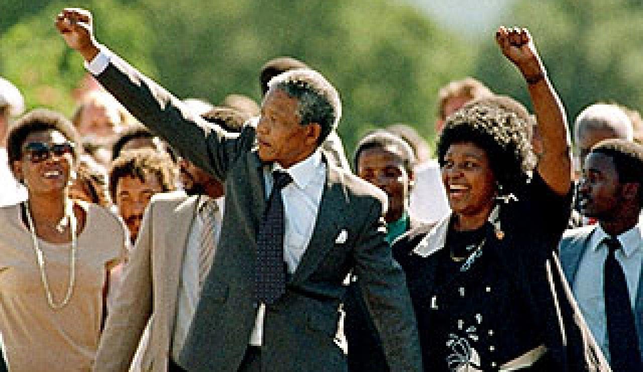 Liberación de Nelson Mandela
