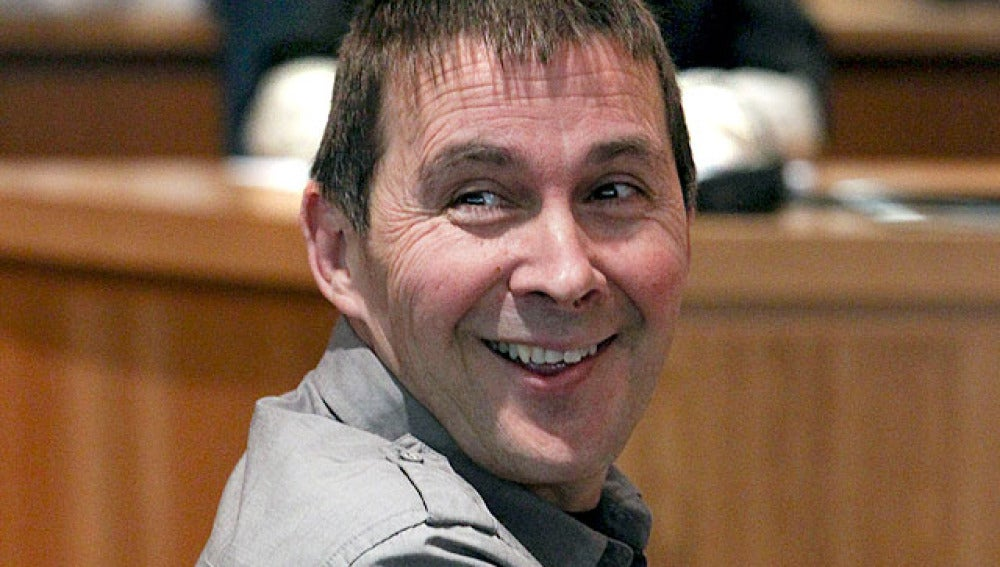 Arnaldo Otegi durante su procesamiento