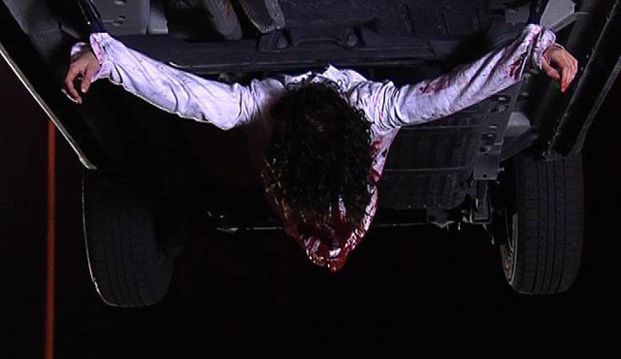 Así se hizo la secuencia de la novicia crucificada