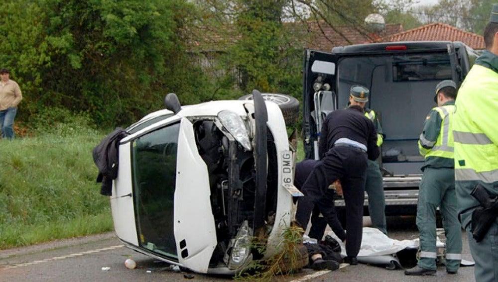 Desciende el número de accidentes hasta abril
