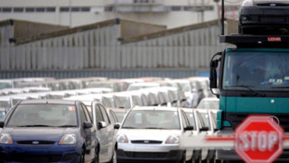 Caen las ventas de coches