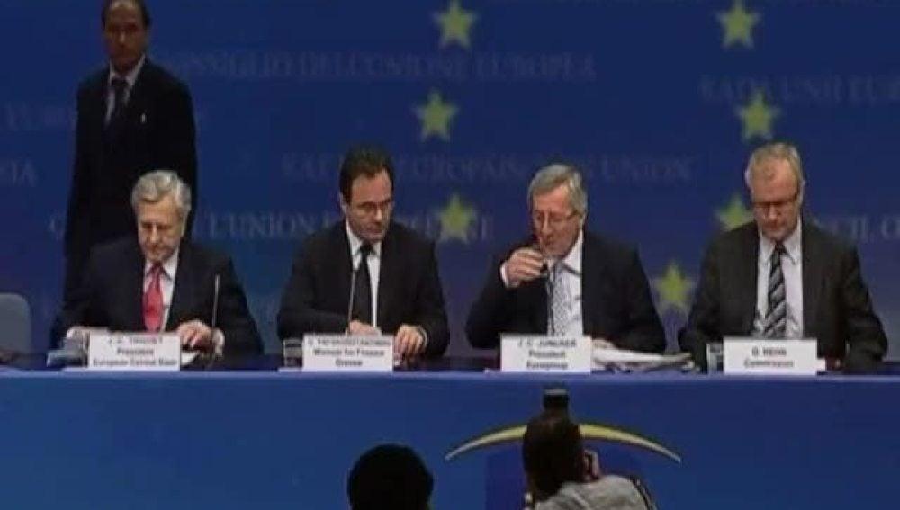 Llega la ayuda europea a Grecia