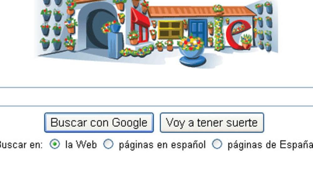 Homenaje de Google a los 'Patios Cordobeses'