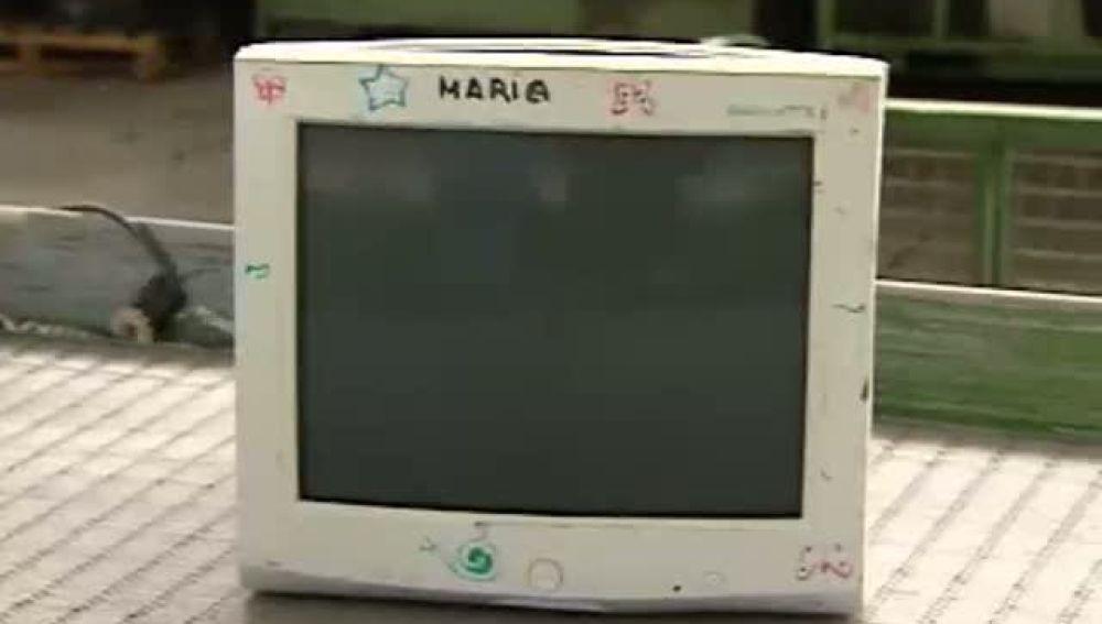 Campaña de reciclaje de pantallas