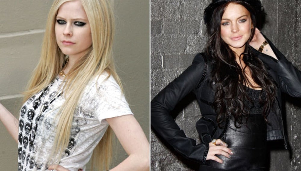 Avril Lavigne contra Lindsay Lohan