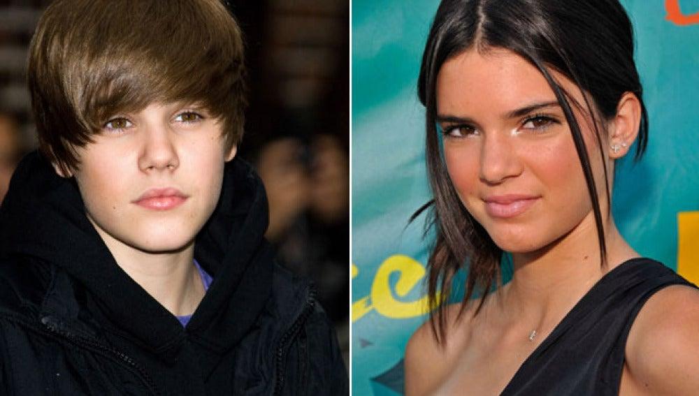 Bieber y la hermana de Kim Kardashian